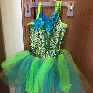 Girls dance dress